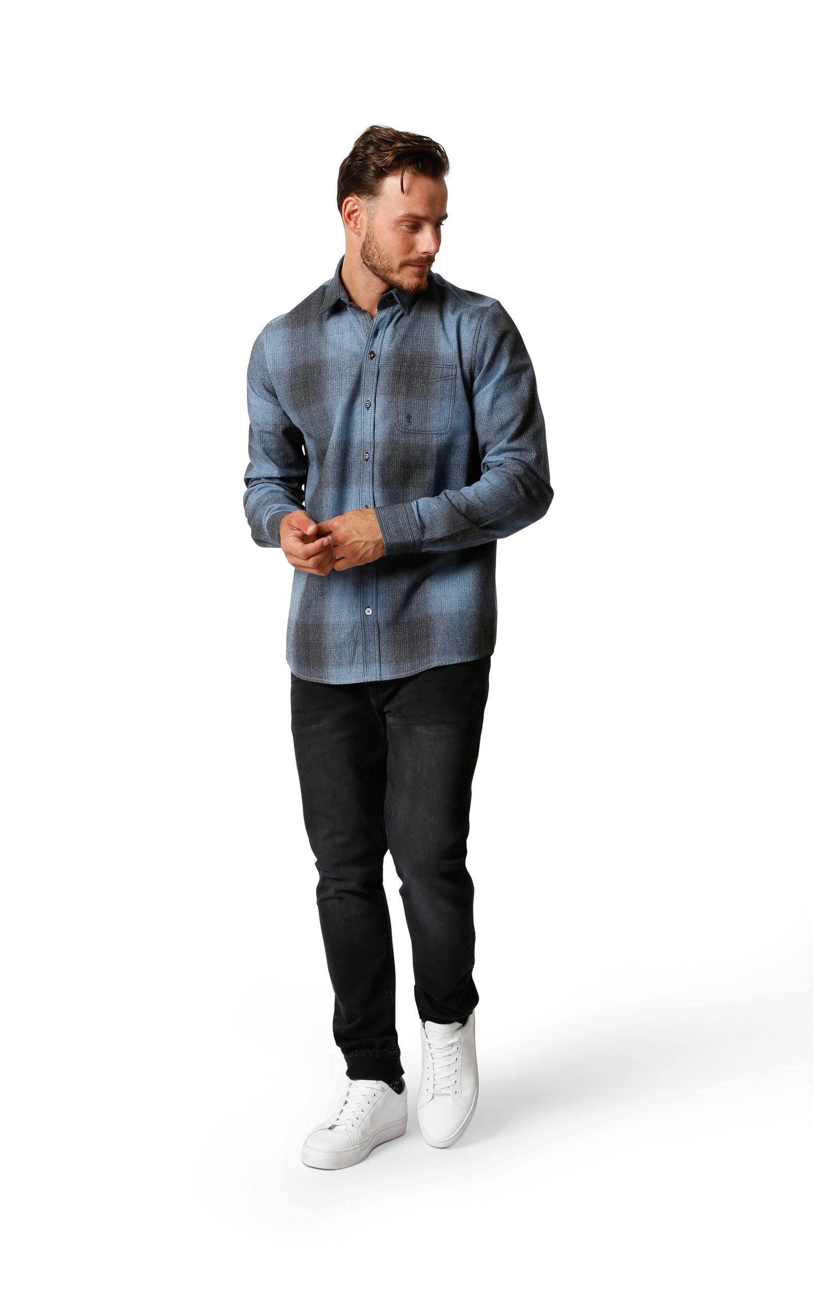 Twinlife overhemd geruit